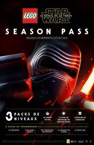 Lego Star Wars - Le Réveil de la Force- Season Pass - Version digitale