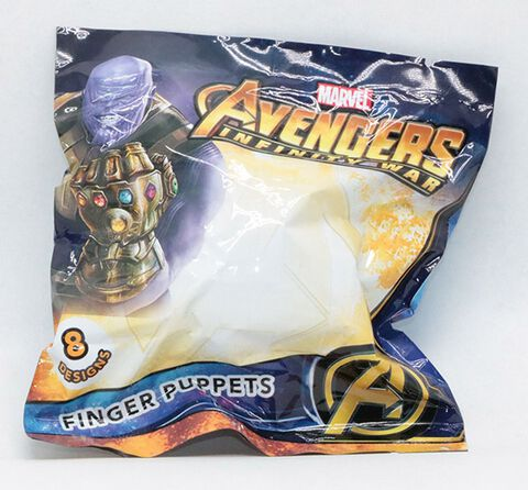 Figurine Mystère Finger Puppets - Infinity War - Marvel - 8 personnages