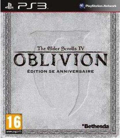 The Elder Scrolls IV : Oblivion Edition 5e Anniversaire