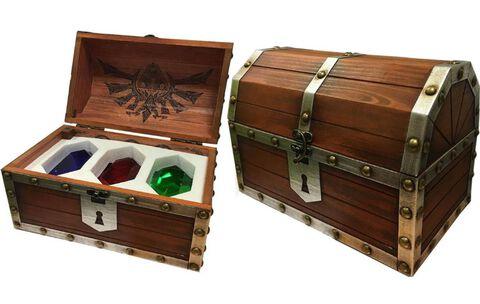 Coffre Pyramid - Zelda - Collector en bois 3 Rubis /6