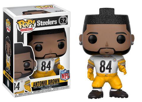 Figurine Toy Pop N°62 - NFL 4 - Antonio Brown Color Rush (exc)