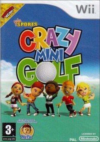 Crazy Mini Golf + Club De Golf Pour Wiimote