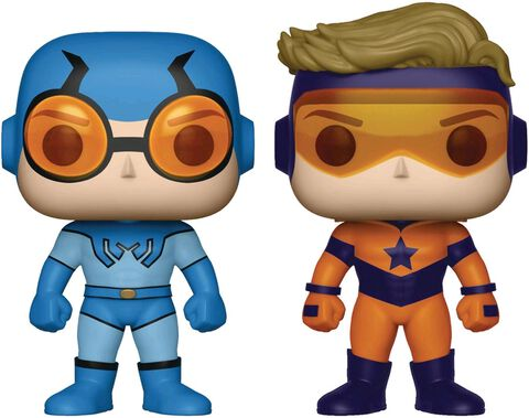 Figurine Funko Pop! - DC Comics - Twin Pack Blue Beetle et Booster Gold