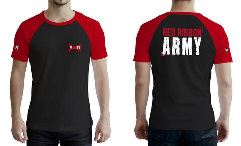 T-shirt - Dragon Ball - Premium Ruban Rouge Taille L (exclu Micro)