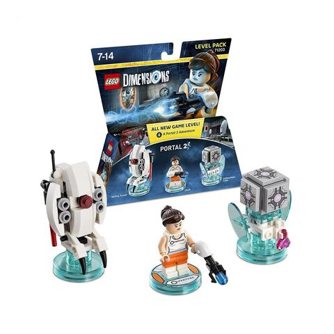 Pack Niveau (Aventure) LEGO Dimensions Chell Portal 2