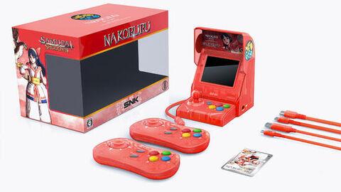 Neo Geo Mini Samurai Shodown Nakoruru Rouge