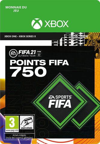 FIFA 21 - Xbox One- Series - FIFA Ultimate Team - 750 Pts