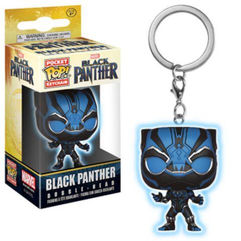Porte-cles Funko Pop! - Black Panther - Black Panther Phosphorescent