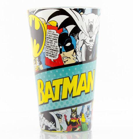 Verre - Dc Comics - Batman Comic 500ml