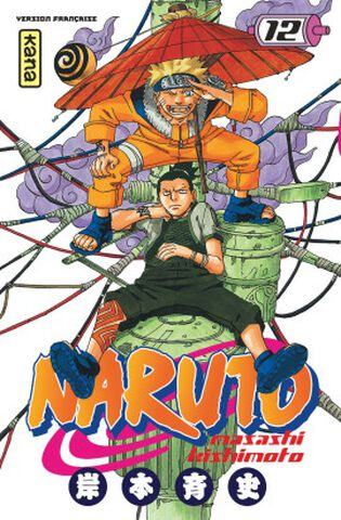 Manga - Naruto - Tome 12