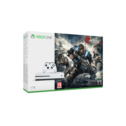 Xbox One S 1 To  + Gears Of War 4 (à Télécharger)