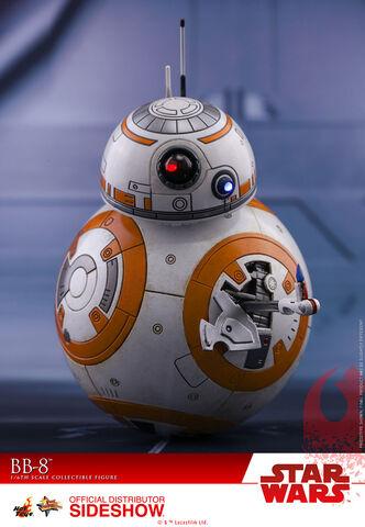 Figurine Hot Toys - Star Wars Episode VIII -  Bb-8 - Masterpiece 1/6