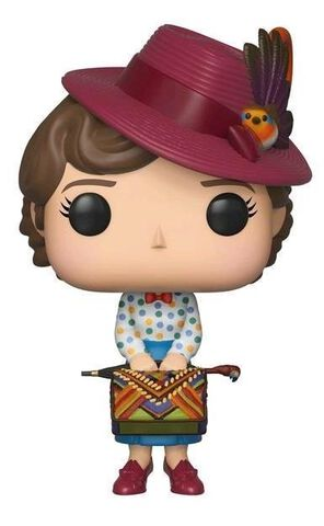 Figurine Funko Pop! N°467 - Mary Poppins - Mary Poppins avec sac