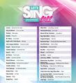 Let's Sing 2022 Hits Français Et Internationaux + 2 Micros