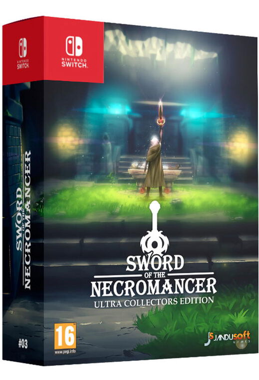 Sword Of The Necromancer Ultra Collector