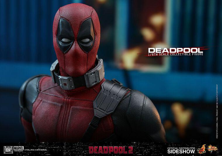 Figurine Hot Toy - Deadpool 2 - Deadpool Masterpiece 1/6