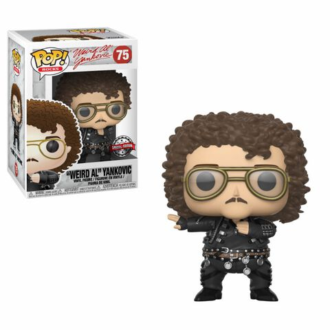 Figurine Funko Pop! N°75 - Rocks - Weird al Yankovic (gros)