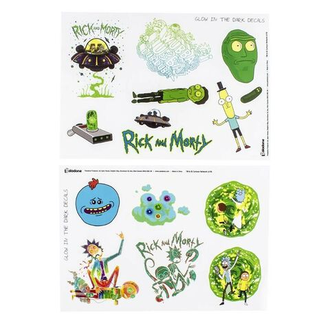 Stickers - Rick et Morty - Assortiment