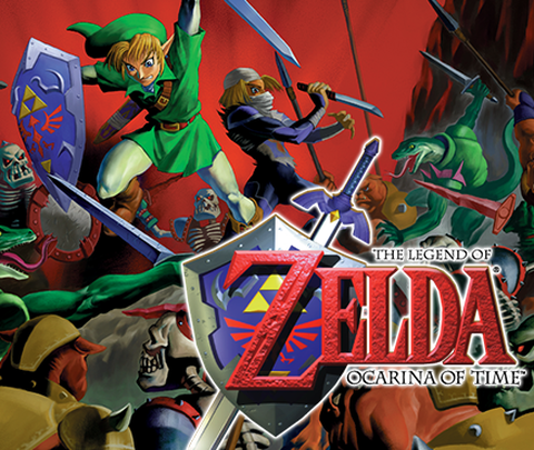 The Legend of Zelda Ocarina of Time (Nintendo 64)
