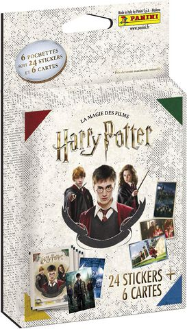 Carte Panini - Harry Potter Saga - Blister De 6 Pochettes