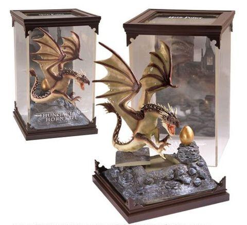 Statuette - Harry Potter - Créatures Magiques - Dragon Hungarian Magyar à Pointe