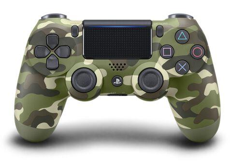 DualShock 4 Green Camo V2