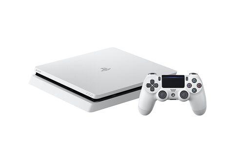 PlayStation 4 Slim Blanche 500 Go