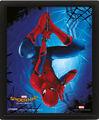 Cadre 3D - Spider-Man : Homecoming - Spider-Man suspendu
