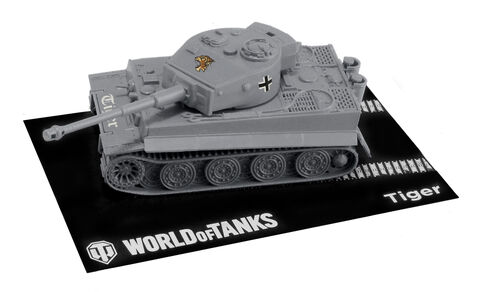 Maquette - World Of Tanks - 1:72 Easy To Build Pzkfw. VI Tiger I