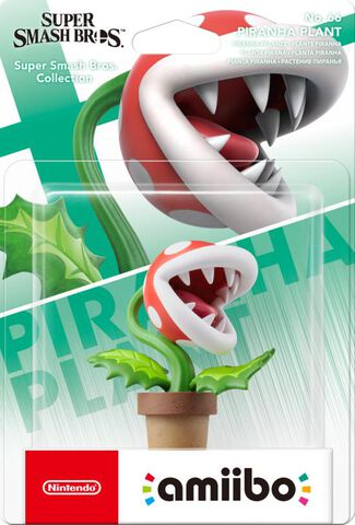 Figurine Amiibo N°66 Smash Plante Piranha
