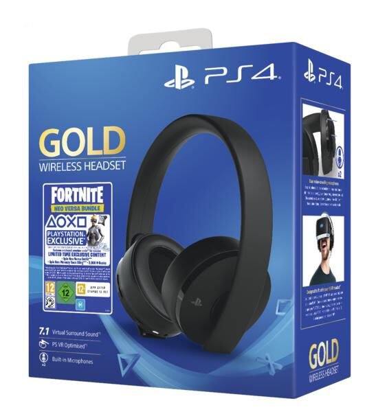 casque ps4 sony 7.1 gold