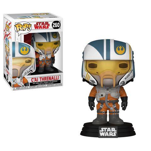 Figurine Funko Pop! N°260 - Star Wars - Episode VIII C'ai Threnalli