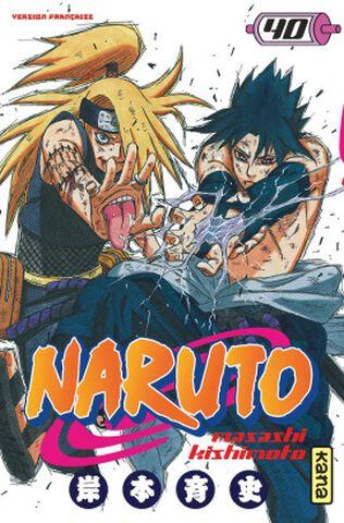 Manga - Naruto - Tome 40