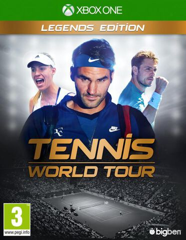 Tennis World Tour Legend Edition Exclusivité Micromania