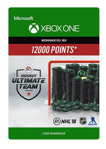 Dlc Nhl 2018 - Ultimate Team Nhl 12 000 Points Xbox One