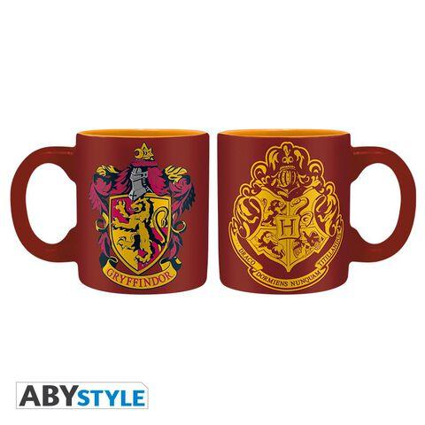 Coffret - Harry Potter - Verre 29 cl + Dessous de verre + Mini Mug Gryffondor