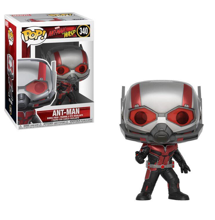 Figurine Funko Pop! N°340 - Ant-man et la Guêpe - Ant-Man (c)