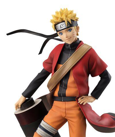 Statuette Megahouse - Naruto Shippuden G.e.m - Naruto Uzumaki Sennin 20 cm