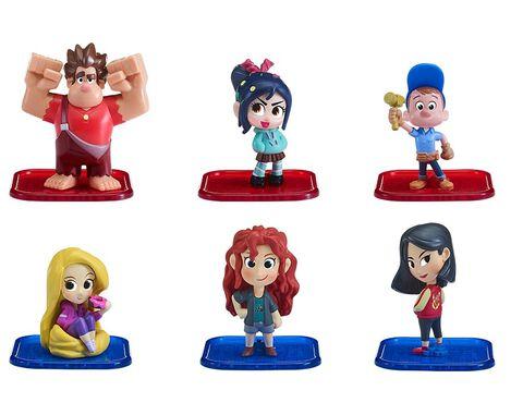 Figurine - Ralph 2.0 - Pack de 6 figurines