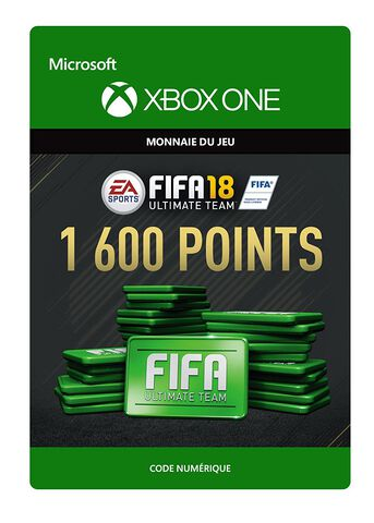 FIFA 18 Ultimate Team 1 600 Pts Xbox One
