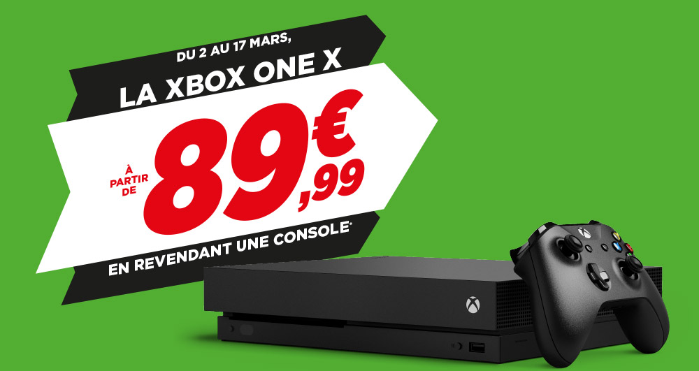 Votre Xbox One X à