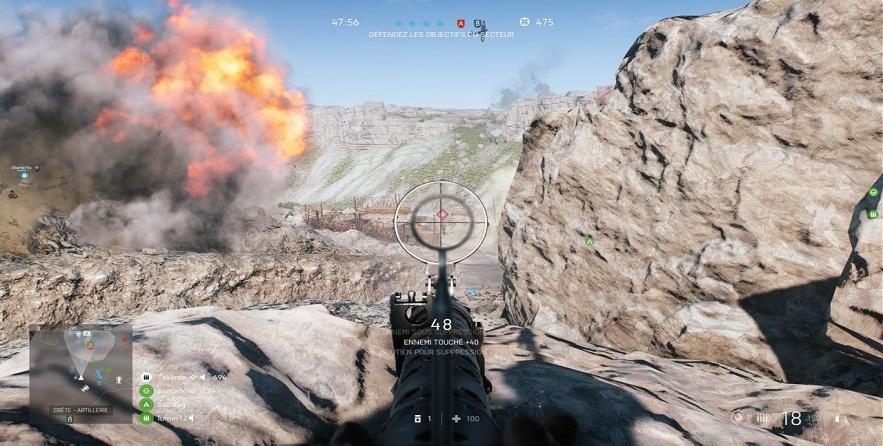 Un PC Shadow fait tourner Battlefield V