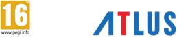 PEGI 16+ & logo Atlus