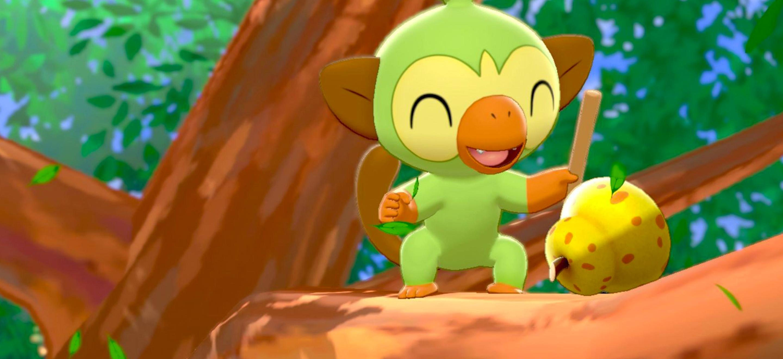 Ouistempo, Pokémon de départ de Pokémon Épée et Bouclier