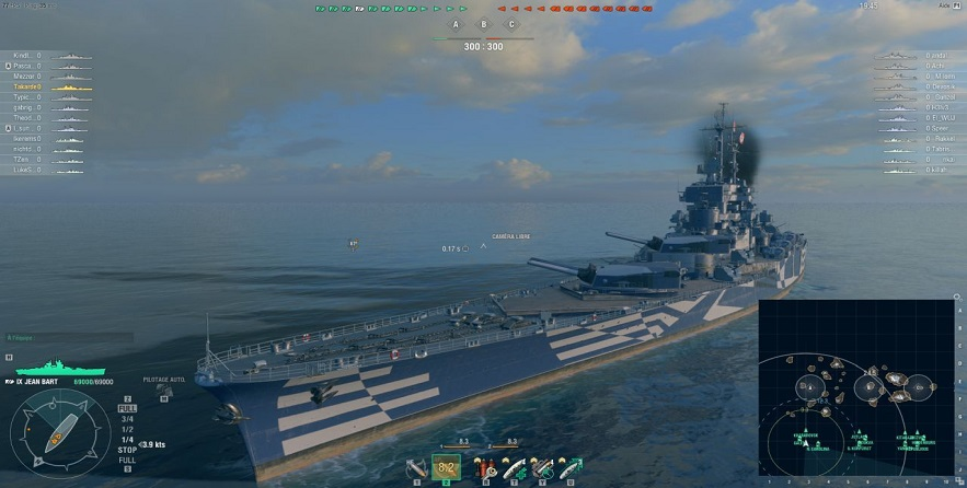 World of Warships sur Shadow