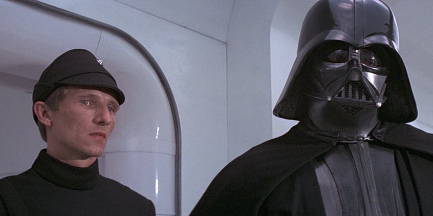 Dark Vador dans la première trilogie de Star Wars