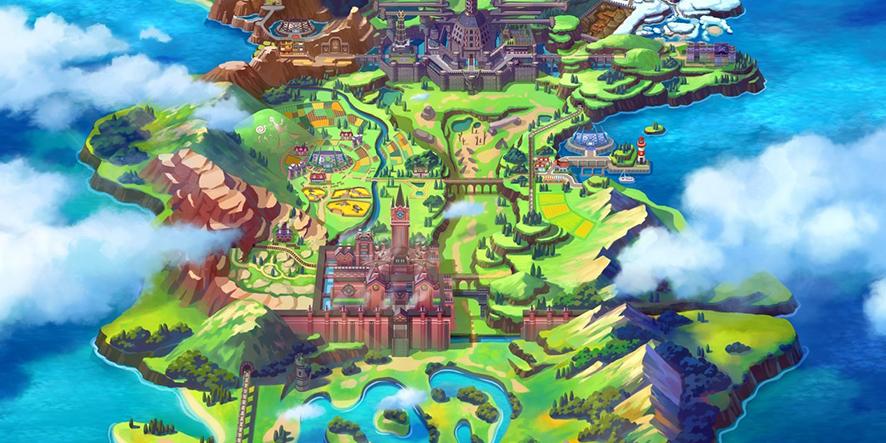 La carte de Pokémon Épée et Bouclier