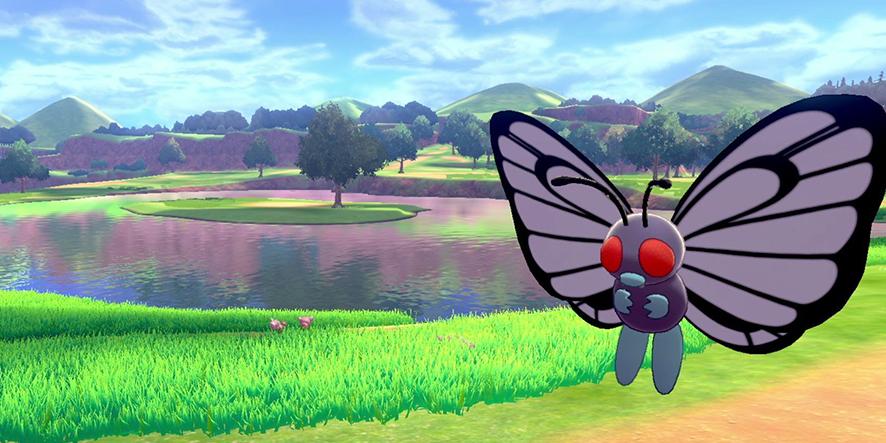 Papillusion dans Pokémon Épée et Bouclier