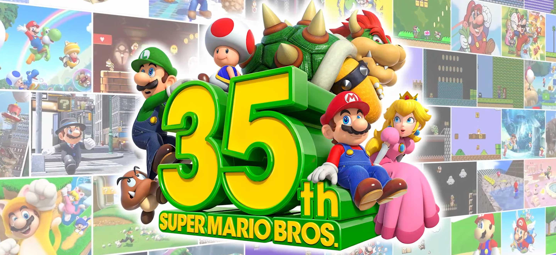 Super Mario 35th Anniversary : tous les jeux annoncés