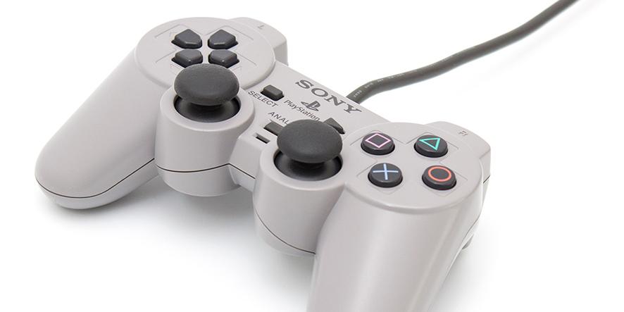 La manette Dualshock, sortie en 1997